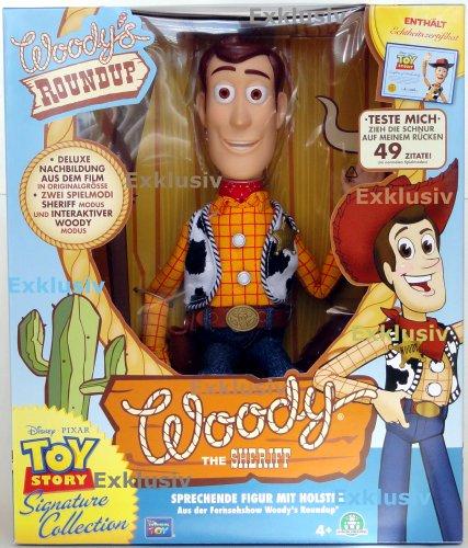 SIGNATURE EDITION Toy Story Sheriff Woody DEUTSCH Sound FX Interaktiv (Signature Edition)