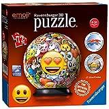 Ravensburger Italy 12198 - Puzzle 3D Ball Emoji