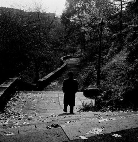 USA New York City Man Walking down Steps at Fort Croyden Park Poster Drucken (60,96 x 91,44 cm) Walking Down Steps