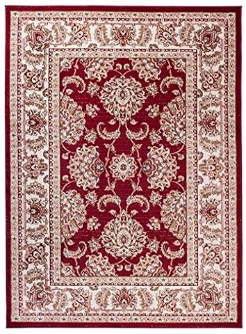 Tapis Conforama Rouge - Grande Tapis d'Orient - ROUGE - Motif