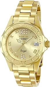 Invicta 14397 Angel Orologio da Donna acciaio inossidabile Quarzo quadrante oro