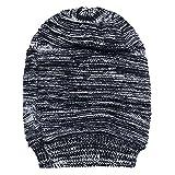 #6: Noise Black Textured Slouchy Beanie Cap