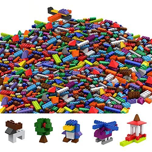 Tumama Juegos de construcción Caja de Ladrillos creativos (1100pcs)
