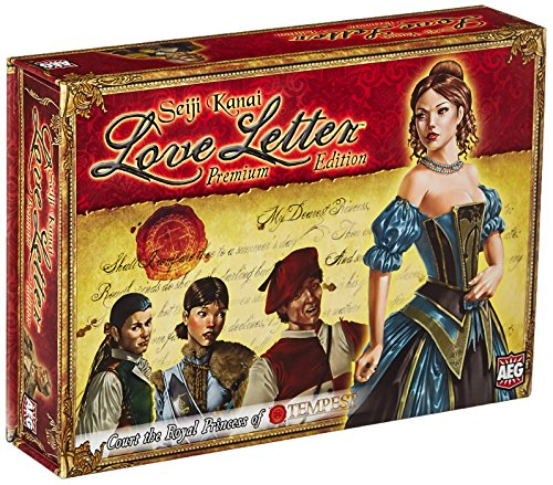 Alderac Entertainment Group Inc. Love Letter edición Premium (versión en inglés)