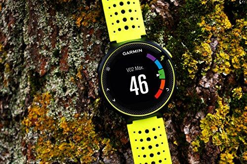 Garmin Forerunner 230 HR GPS-Laufuhr inkl. Herzfrequenz-Brustgurt – 16 Std. Akkulaufzeit, Smart Notifications - 4