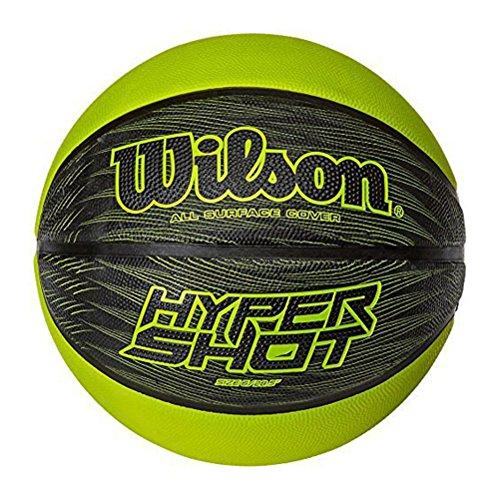 WILSON Hyper shot size 5 [black/lime green]
