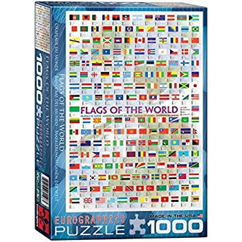 Eurographics the periodic table of the elements puzzle 1000 eurographics flags of the world puzzle 1000 pieces urtaz Choice Image