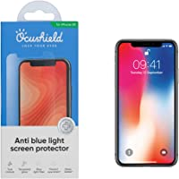 "Ocushield Vitre iPhone XR 6.1"" de Protection Anti Lumière Bleue Verre Trempé iPhone XR 6.1"" I Verre Trempé iPhone XR..."