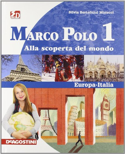 Marco Polo. Con Regioni d'Italia-Atlante con carte mute. Per la Scuola media. Con espansione online: MARCO POLO 1 +ATLANTE+REG +LD