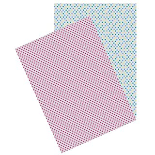 Autres marques 'Self-Adhesive Sheets A4Washi Paper Stars (Set of 2)