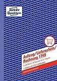 Avery Zweckform 1749 Auftrag/Lieferschein/Rechnung (A5, selbstdurchschreibend, 3x40 Blatt) weiß/gelb/rosa