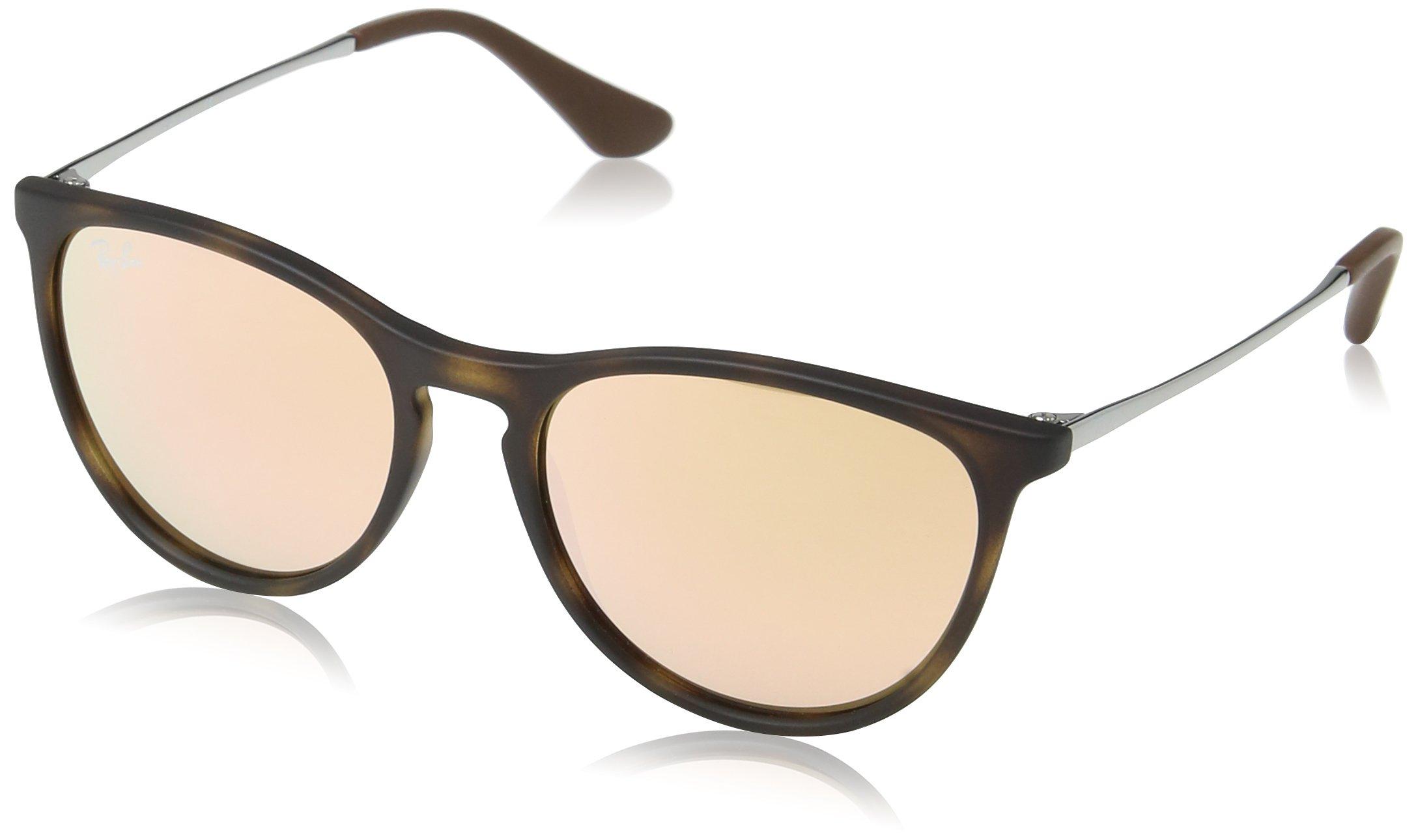 Ray-Ban Junior Izzy Schlüsselloch Runde Sonnenbrille in transparent ...