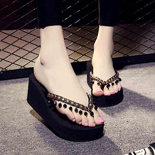 Lukis Flip Flops Damen Slipper Sommer Schuhe Zehentrenner Color1