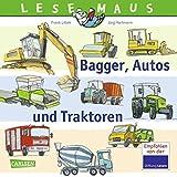 LESEMAUS 151: Bagger, Autos und Traktoren