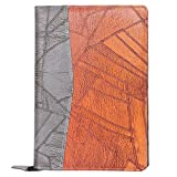 #9: Amazinghind Leatherette Material Professional File Folders for Certificates, Files and Folders for Documents, Document Folder for Certificates with 20 Leafs (Size- B4, Color-Grey Brown)