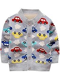 455805fac0ea1 Loveble Little Girls Boys Cardigan Knitted Coat.