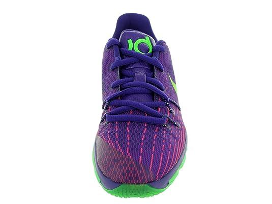 Nike Kids KD 8 (PS) Basketball-Schuh, violett - Crt Prpl/Grn Strk/Vvd  Prpl/Brg - Größe: 27.5 EU: Amazon.de: Schuhe & Handtaschen