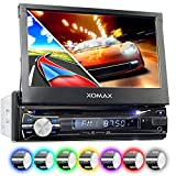 XOMAX XM-DTSBN933 Autoradio / Moniceiver / Naviceiver mit GPS Navigation + Navi Software inkl. Europa Karten (38 Länder) + Bluetooth...