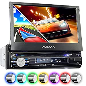 xomax xm dtsbn933 autoradio mit gps navigation bluetooth. Black Bedroom Furniture Sets. Home Design Ideas