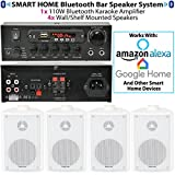 Best Cuffie di Amazon per i prezzi - bar/ristorante/Home Bluetooth a muro sfondo bianco speaker System–wireless Review