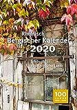 Rheinisch Bergischer Kalender 2020: Jahrbuch für das Bergische Land -