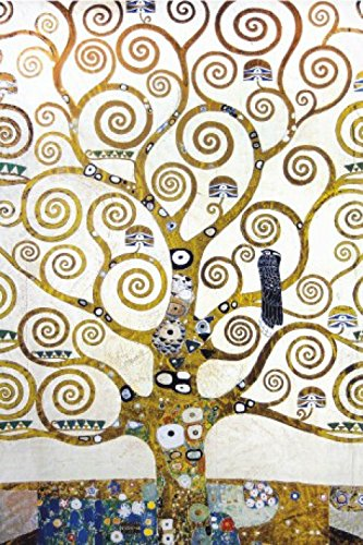 1art1 Gustav Klimt - Der Lebensbaum (Detail) Selbstklebende Fototapete Poster-Tapete 180 x 120 cm