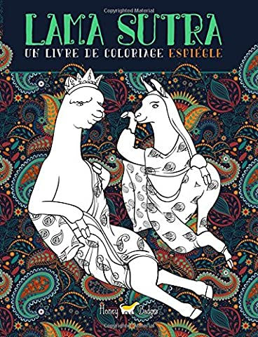Lama Sutra: Un Livre De Coloriage