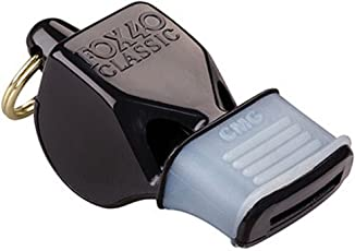 Fox 40 Classic CMG Whistle, Black