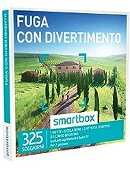 SMARTBOX - Cofanetto Regalo - FUGA CON DIVERTIMENTO - Invitanti Agriturismi e Hotel 3*