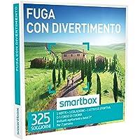 Smartbox - Cofanetto Regalo - FUGA CON DIVERTIMENTO - 325 soggiorni in agriturismi e hotel 3*