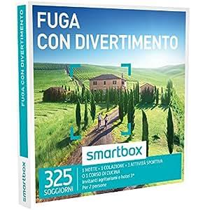 SMARTBOX - Cofanetto Regalo - FUGA CON DIVERTIMENTO - 325 soggiorni ...
