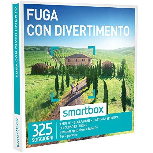 Smartbox - fuga con divertimento - 325 soggiorni in agriturismi e hotel 3*, cofanetto regalo
