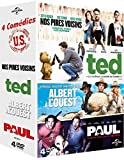 4 comédies U.S.: Nos pires voisins + Ted + Albert à l'ouest +...