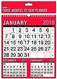 Großer Wandplaner-Kalender mit Monatsansicht für 2018, für Heim oder Arbeitsplatz Originalverpackung