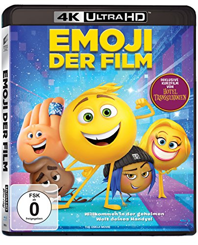 Emoji: Der Film - Ultra HD Blu-ray [4k + Blu-ray Disc]