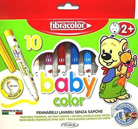 Feutre Coloriage Pm Bebe Assorti - Boite De 10 [Jouet]