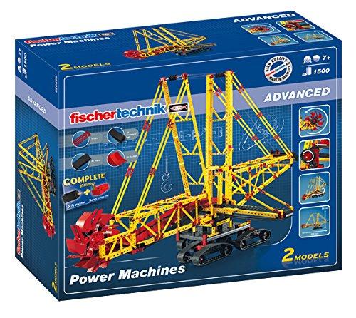 Fischertechnik 520398 - Power Machines Konstruktionsspielzeug