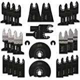 Multitool Zaagbladen, 28st Zaagbladen Kit, Oscillerende Accessoires, Oscillerend Zaagblad Set, Multifunctioneel Gereedschap v