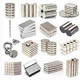 daw21onlineshop Neodym Magnete nach Wahl - Größe und Stückzahl wählbar - Starke Super Magnete (6x2mm 100 Stück)