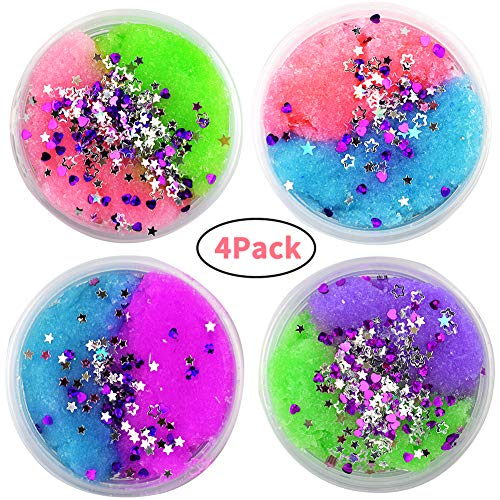 #5001 Colorful Mixing Cloud Cotton Candy Slime Squishy Scented Stress Kids Clay Toy And To Have A Long Life. Toys & Hobbies