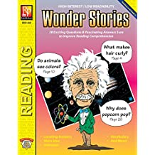Wonder Stories (Reading Level 3) | Reproducible Activity Book: 28 Exciting Questions & Fascinating Answers Sure to Imrpove Reading Comprehension (English Edition)