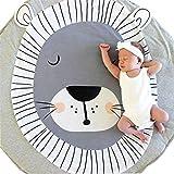 Longra Dibujos Animados Infantiles Infantiles Creeping Mat decoración de la habitación Manta (C)