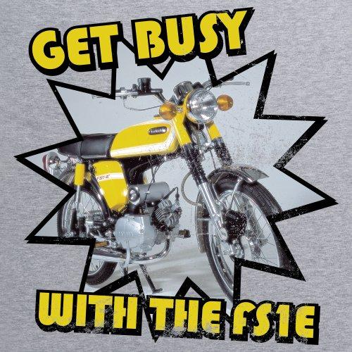 FS1E T-Shirt, Herren Grau Meliert