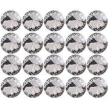 20pcs 30mm brillantes diamantes sofá de la tapicería cabecero DIY Decor para coser en botón