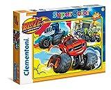 Clementoni 26962 - Puzzle Blaze And The Monster Machines, 60 Pezzi