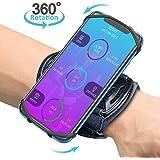 Bovon Porta Cellulare Braccio, Fascia Braccio Smartphone per Corsa, Jogging Traspirante 360° Rotazione Universale Armband da