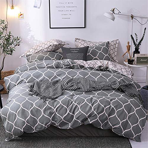YUNSW Europa Baumwolle Bettwäsche Stücke Bettwäsche Set Voller König Königin Single Size Bettbezug Quilt B 220x230 cm