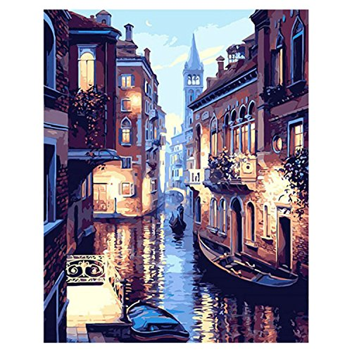 Gosear Pintura óleo Digital sin Marco DIY Pintura