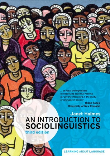 an introduction to sociolinguistics janet holmes free pdf