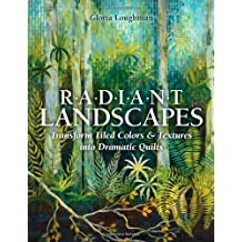 Radiant Landscape: Transform Tiled Colors & Textures into Dramatic Quilts by Gloria Loughman (2013-06-28)